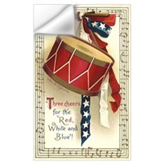 Vintage 4th of July Wall Decal