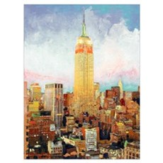 New York City Picture Poster