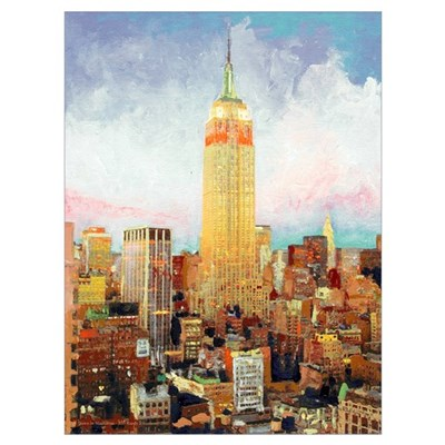 New York City Picture Framed Print