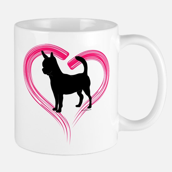 Heart My Chihuahua Mug