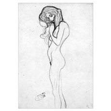 Gustav Klimt Madalane Medium Poster