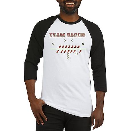 Team Bacon Playbook Baseball Jersey