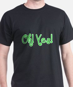 OhYes_Green T-Shirt