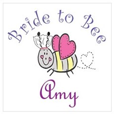 Amy Bride to Bee Poster