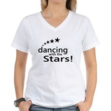 Dancing with the Stars Women's V-Neck T-Shirt