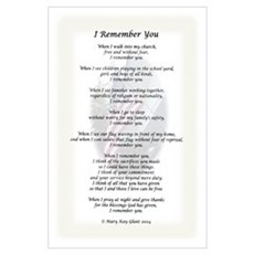 I Remember You Full-Size Poster