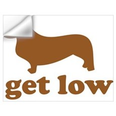 Get Low Corgi Wall Decal