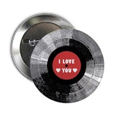I Love You - Button