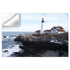 Scenic Portland Headlight Wall Decal