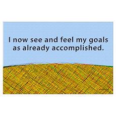 Visualising Goals Poster