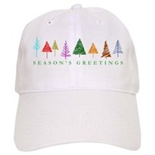 Christmas Trees Baseball Cap