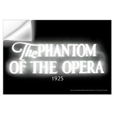 The Phantom of the Opera 1925 Wall Decal