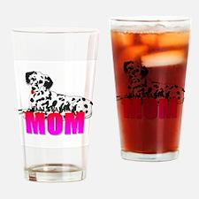 Dalmatian Mom Drinking Glass