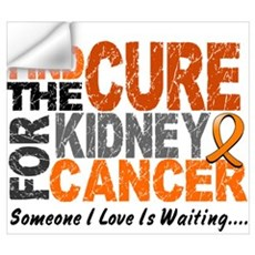 Find The Cure 1 KIDNEY CANCER Wall Decal