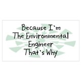 Environmental engineer Posters