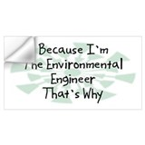 Environmental engineer Wall Decals