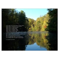 Reflections - St. Francis Prayer Canvas Art