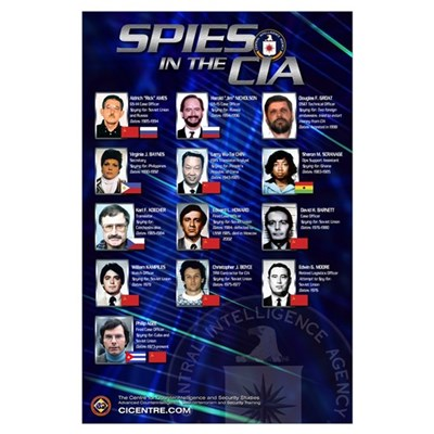 Spies in the CIA 23x35 Poster