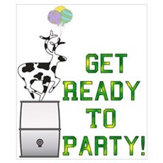 Ready To Party Poster