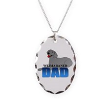 Weimaraner Dad Necklace