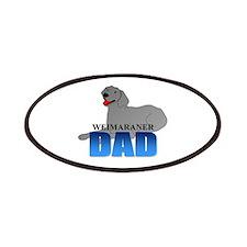 Weimaraner Dad Patches