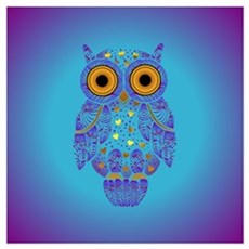 H00t Owl Canvas Art