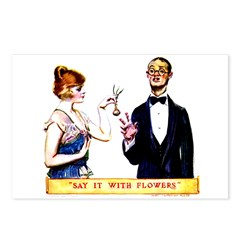 Say It With Flowers Postcards (Package of 8)