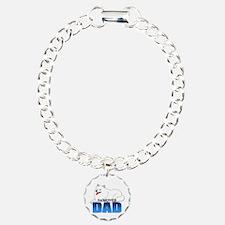 Samoyed Dad Bracelet