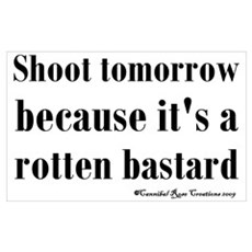 Shoot (For) Tomorrow Poster