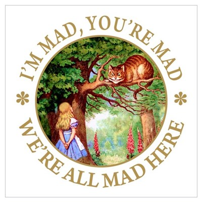 I'M MAD, YOU'RE MAD Poster