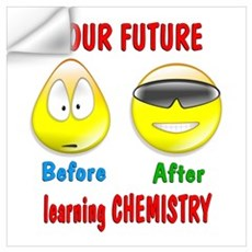 Chemistry Future Wall Decal