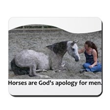 God's Apology Mousepad