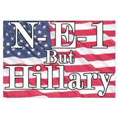 NE1 but Hillary Canvas Art