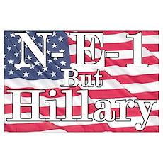 NE1 but Hillary Poster