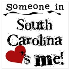 Someone in South Carolina Poster