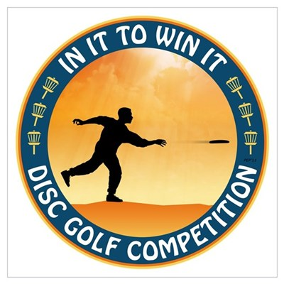 Disc Golf Competition Canvas Art