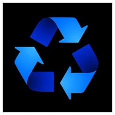 Recycling Symbol Poster