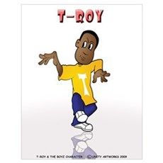 T-roy Poster