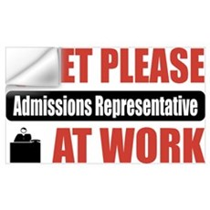Admissions Representative Work Wall Decal