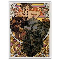 Alphonse Mucha Poster