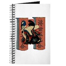 Vintage Japanese Geisha Journal