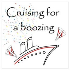 Cruising for a Boozing Poster