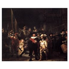 The Nightwatch Framed Print