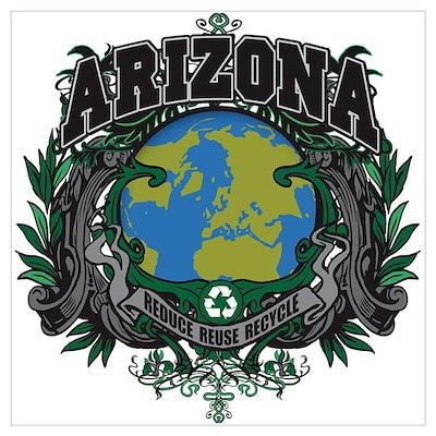 Arizona Green Pride Poster