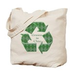 Green Chic - Tote Bag