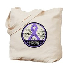 Hodgkins Disease Survivor Tote Bag