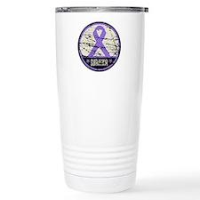 Hodgkins Disease Survivor Travel Mug