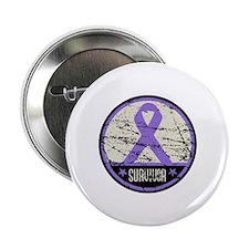 """Hodgkins Disease Survivor 2.25"""" Button (100 pack)"""