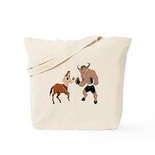 MMA Centuar Vs Minotaur Tote Bag