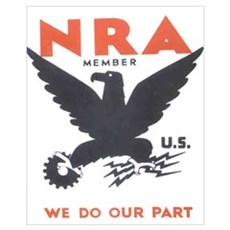 Small NRA Canvas Art